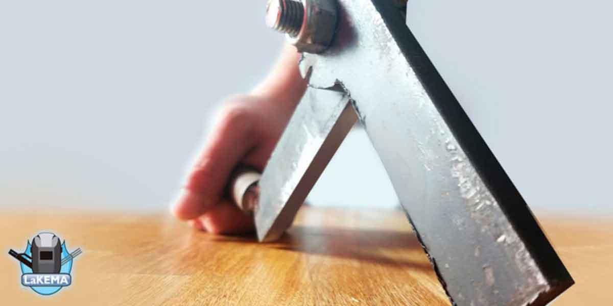 cortador de alambron casero video de herramienta casera de lakema