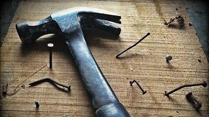 martillo herramientas caseras para carpinteria